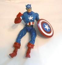 "2002 Toy Biz Marvel Legends: Series 1 Captain America 6"" Action Figure - $14.99"