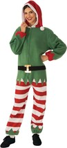 Rubies Elf Santa Claus Helper Adult Jumper Christmas Xmas Holiday Costum... - $39.99