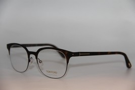 New Tom Ford Tf 5347 052 Havana Eyeglasses Authentic Rx TF5347 51-19 W/CASE - $157.32