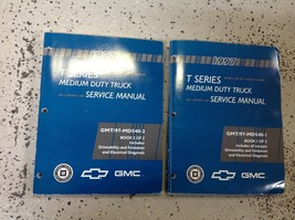 1997 Chevy GMC T-SERIES Workshop Shop Service Repair Manual Set OEM Factory GM - $98.99