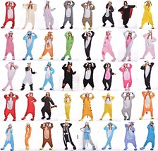 Animal Onesies Kid Teenage Adult Unisex Kigurumi Cosplay Costume Pyjamas... - $21.99