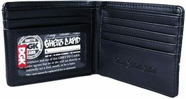Dirty Ghetto Kids DGK Black Roses and Guns Yin and Yang Bi-Fold Wallet NEW image 3
