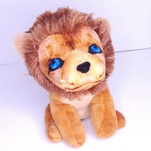 "Lion Plush Dan Dee Collector's Choice Blue Eyes Vintage Style 8"" Stuffed Animal - $7.87"