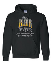 Beer Dad Hoodie Drink Drunk Alcohol Mom Parent Father's Day Funny Tee Gift New - $36.62+