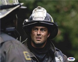 """Taylor Kinney """"Chicago Fire' Signed 8x10 Photo Certified Authentic PSA/DNA COA - $138.59"""