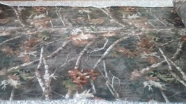 New Marsh True Timber Kanati with Tree & Leaves Fleece fabric by the yard - $10.89