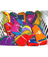 Crochet Dish Wash Cloths Handmade Lot Of 10 - $16.99