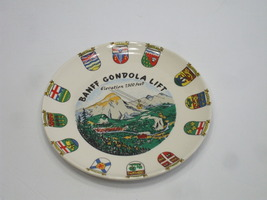 Canada Banff Decorative Porcelain Plate 9 Inches Round - $18.00