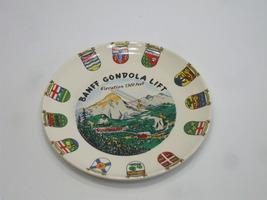 Canada Banff Decorative Porcelain Plate 9 Inches Round - $15.99