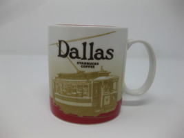 2011 Starbucks Mug Dallas Collectors Series City Coffee Cup Mug Free Shipping - $29.99