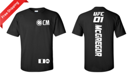 Conor Notorious McGregor Mayweather fight T-Shirt Boxing UFC Irish Flag ... - $23.27 - $27.23