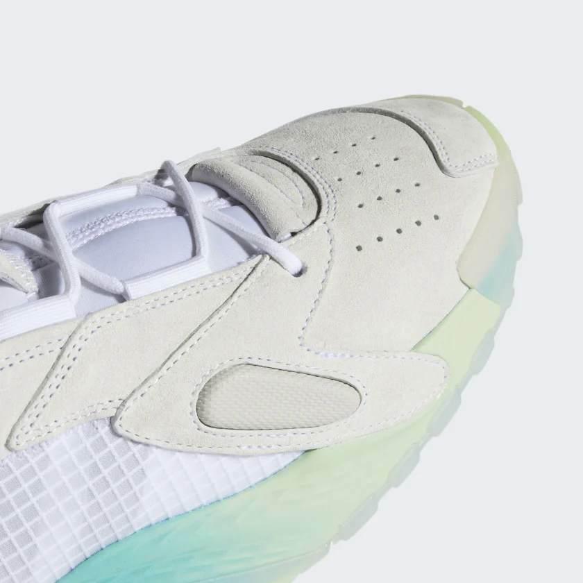 Adidas Originali Streetball Scarpe Bianco/Acquamarina Scarpe Sportive image 8