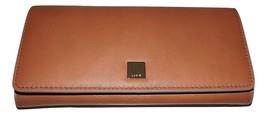 Neu Lodis DAMEN Leder Rfid Geschützt Kreditkarte Clutch Portemonnaie Cognac - $59.39
