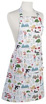 Now Designs Basic Cotton Kitchen Chef's Apron, True North, - $26.60