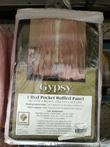 LORRAINE HOME FASHIONS Gypsy Shabby Chic Layered Ruffle Window Curtain P... - $29.00