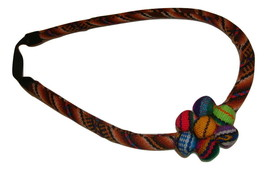 3 Pack Peruvian Multicolored Handmade Headband Peru Textiles Manta Flowe... - $13.81