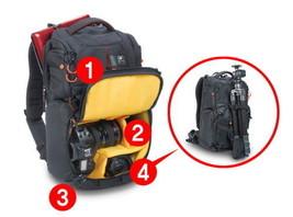 KATA 3N1-25 DSLR Sling-Backpack Torso Camera Pro Lightweight Protection Storage image 2