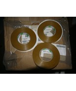 """3 Roll Nitto Denko Double Coated Adhesive Transfer Tape 595B  .75"""" x 55 ... - $19.79"""