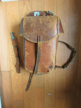 RARE WW2 German Army/Luftwaffe/Marine Staab OFFICER Leather DOCUMENT's BAG! - $84.14