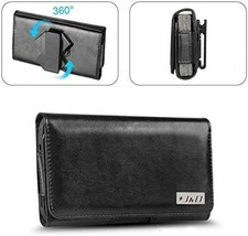 J&D Holster Compatible for Samsung, Synthetic Leather, Black image 1
