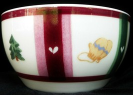 Pfaltzgraff Snow Bear Holiday Soup Cereal Bowl NEW Snowbear Christmas Tree NEW - $9.74
