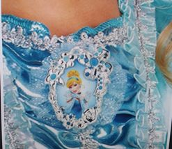NEW Disney Cinderella Sparkle Classic Child Halloween Costume by Disguise, M image 11