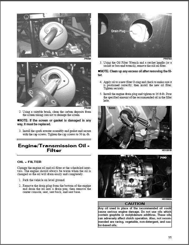 2015 Arctic Cat Prowler HDX UTV Service Repair Workshop Manual CD