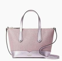 Kate Spade New York Lola Glitter Satchel crossbody Glitter pink Bag Purs... - $84.10