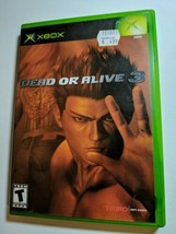Dead or Alive 3 (Microsoft Xbox, 2001) A119 - $3.96