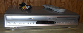 Toshiba SD-V291 DVD VCR Combo Dvd Vhs Player with Remote Control & Tv Cables - $179.98