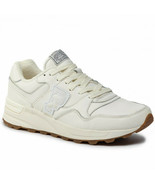 POLO RALPH LAUREN P-Wing Stadium 1992 Trackstar 100 Leather Shoes Off Wh... - $109.99