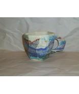Charles Nalle Vintage Studio Pottery Abstract Coffee Mug - $13.86