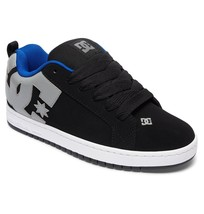 MENS DC COURT GRAFFIK SKATEBOARDING SHOES NIB BLACK ARMOR        (BKO) - $59.99