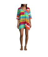 Porto Cruz Geometric Jacquard Swimsuit Cover-Up Dress Size S, M, L Msrp $42 - $21.99