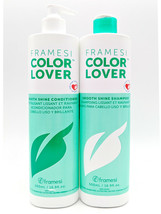 FRAMESI Color Lover Smooth Shine 16.9 oz [Choose: Shampoo, Conditioner, ... - $18.71+
