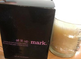 Avon mark All Lit Up Lemon Sugar Candle - $29.70