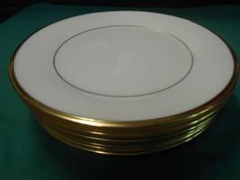 "Beuatiful Lenox Dimension Collection ""Eternal"" 6 BREAD-SALAD-DESSERT Plates 8"" - $47.11"