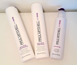 Paul Mitchell Extra Body Conditioner & Shampoo 10oz and Thicken Up 6.5oz (3PACK) - $35.63