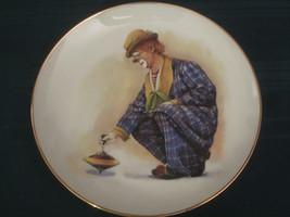 Four CLOWN CAPERS Collector Plates HAMILTON Spinner Rascal Romeo Steady ... - $40.00