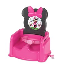 NEW! Girls Seat Booster Feeding Food Toddlers Portable Minnie Mouse  - $47.51