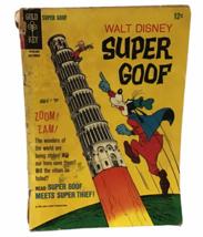 Walt Disney's Super Goof 1966 September Disney Comic Book Fair Poor Condition  - $11.88