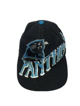 Carolina Panthers Rare Vintage The Game Snapback Hat Full LOGO - $49.49