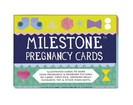 Milestone Pregnancy Photo Cards - 30 Card Box - Complete - Baby Shower Gift - $15.79