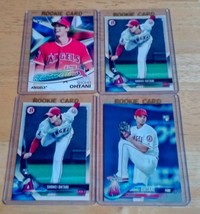 Shohei Ohtani Angels LOT(4) Rookie Cards Mint Condition US Free Shipping - $11.27