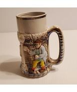 Rare Vintage 1976 Festa De Chopp Ceramic beer mug stein  - $80.00