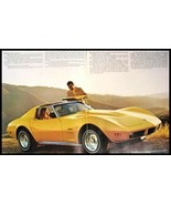 1974 Chevy Corvette Stingray ORIGINAL Brochure GM MINT 74 - $13.35