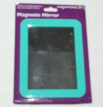 Wexford Magnetic Mirror School Locker 5 In X 7 In Teal NEW - $8.74