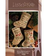 Flora McSamples 2014 Stockings LK168 christmas cross stitch chart Lizzie... - $10.35