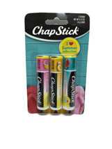 3 Chapstick Watermelon Lemonade Peach I Love Summer Limited Collection L... - $6.13