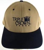 Triple Crown Fence Company Delano CA Snapback Cap Hat  - $22.79